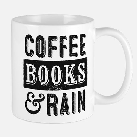 Coffee Books And Rain Mugs